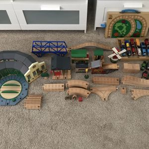 Thomas And Friends Wooden Train Set for Sale in St. Petersburg, FL
