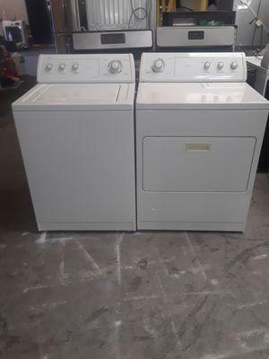 washer and dryer gas whirlpool good condition 90 days warranty labadora y secadora gas whirlpool buenas condiciones 90 dias de garantia for Sale in San Leandro, CA