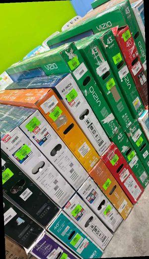 43 inch tv liquidation sale 😃😃😃😃😃🤩😯😯⚡️📺📺📺 T for Sale in Los Alamitos, CA