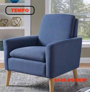 Accent Chair, Blue, #D7905 for Sale in Downey, CA