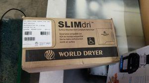 World SLIMdry Hand Dryer for Sale in Dallas, TX