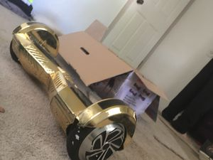 Gold hoverboard for Sale in Sacramento, CA