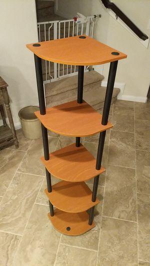 5 tier shelf (light cherry) for Sale in Cypress, TX