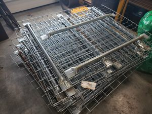 Pallet racking metal wire shelves for Sale in Canby, OR