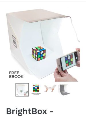 BrightBox - Portable Folding Mini Product Photo Studio With LED Light for Sale in Fresno, CA