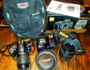 Nikon Digital & 35mm Film Photography set for Sale in Sand Springs, OK