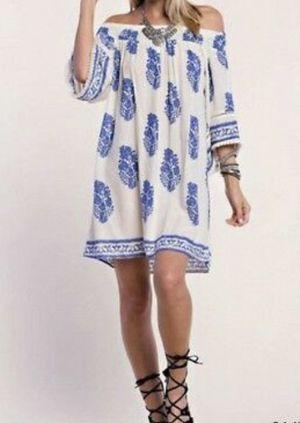 Off-shoulder boho dress for Sale in Melbourne Village, FL