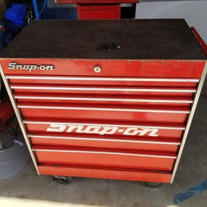 Snap-on KR557F Rolling Tool Chest 7 Drawer 2 Keys Tool Box for Sale in North Las Vegas, NV