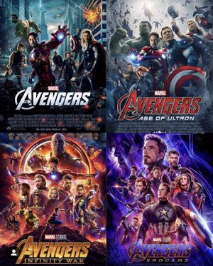 4K UHD Avengers 4 film movie collection for Sale in Puyallup, WA