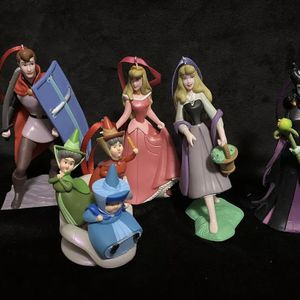 5 Piece Ornament Set Disney Malefecint for Sale in San Diego, CA