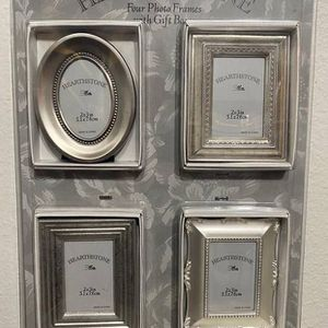 NEW Set of 4 HEARTHSTONE 2X3 INCH PICTURES FRAMES With Gift Boxes for Sale in Bellevue, WA