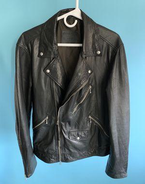 AllSaints Holt Biker Leather Jacket Black (Like New) for Sale in Los Angeles, CA