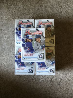2020 Bowman Baseball Blaster Boxes NEW AND SEALED for Sale in Columbia, MO