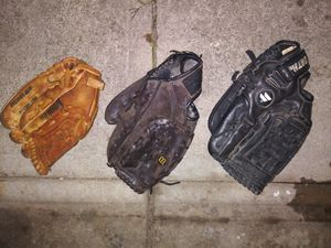 Used baseball gloves for Sale in Grove City, OH