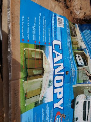 Not used just damaged box steel frame canopy for Sale in Maple Valley, WA