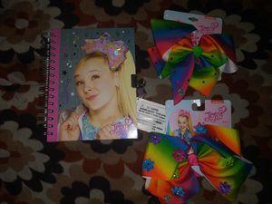 JoJo siwa diary with lock & keys + JoJo siwa bows for Sale in Hawthorne, CA