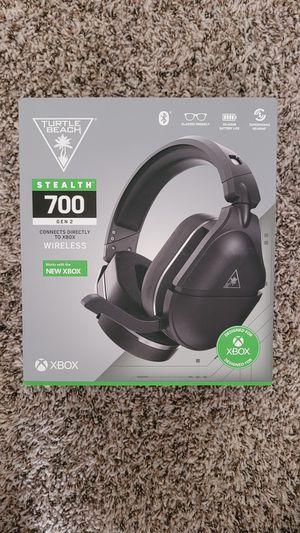 Turtle Beach Stealth 700 Gen 2 (Xbox) Wireless Headset for Sale in Kissimmee, FL