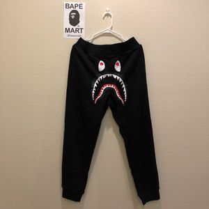 Bape sweatpants black (fits like medium/large) for Sale in San Fernando, CA