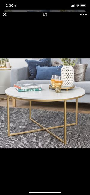 Faux Marble Table for Sale in Los Angeles, CA
