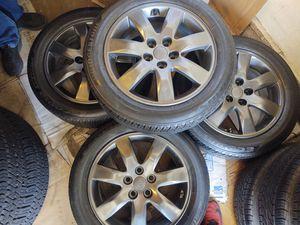 "17"" kia wheels. BRIDGESTONE TIRES. $$$385 firm.... for Sale in Gardena, CA"