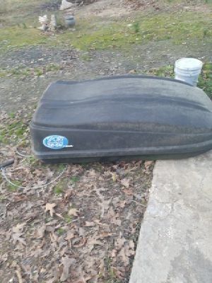 Car top cargorooftop box 20 sv by sears for Sale in Columbus, MS
