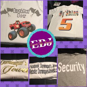 Custom shirts, book bags, totes, sweat shirts for Sale in Greenville, NC