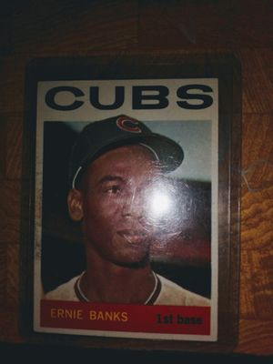 Ernie Banks Topps, excellent!! for Sale in Post Falls, ID