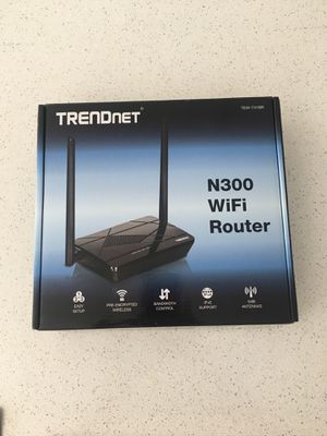 TRENDnet N300 WiFi Router for Sale in Malvern, PA