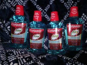4 Colgate Total Gum Health Mouthwash for Sale in Florissant, MO
