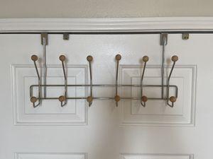 Home Basics 6 Dual Hook Over The Door Hanger for Sale in Los Angeles, CA