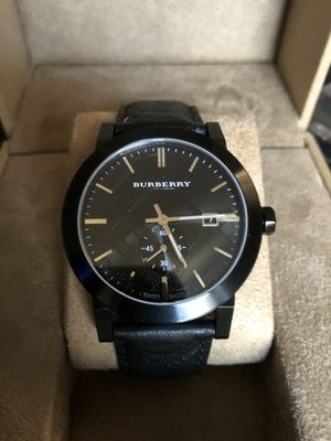 Burberry men's watch for Sale in Chicago, IL