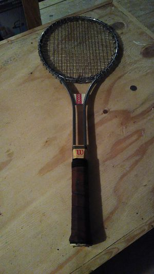Antique tennis racket for Sale in Edna, TX