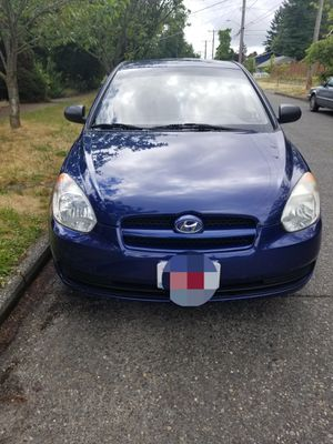 Hyundai accent blue for Sale in Seattle, WA