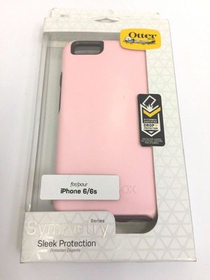 OtterBox Symmetry Series iPhone 6/6s (Light Pink / Burgundy Trim) for Sale in San Diego, CA