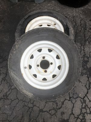 4 Lug trailer or boating trailer rims and tires for Sale in PA, US