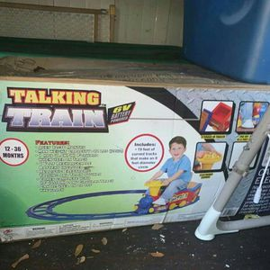 Ride Along Train Set For Kid for Sale in St. Petersburg, FL