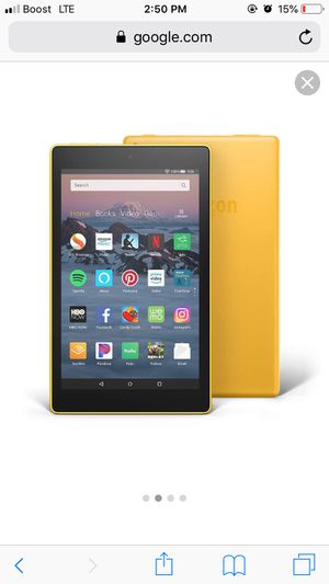 Amazon kindle fire tablet for Sale in Pittsburgh, PA