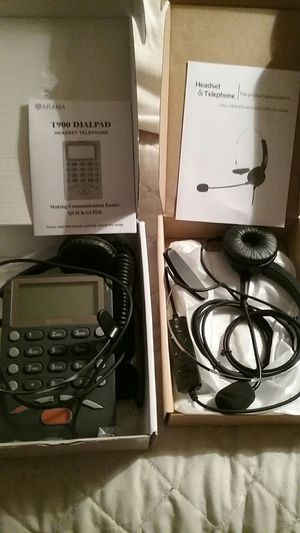 Call center headset and dialpad for Sale in Ruskin, FL