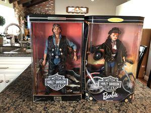 Harley Davidson Ken and Barbie dolls for Sale in Yorba Linda, CA