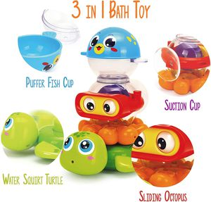 Swimming Pool Toys for Baby Children Kids Bath Beach Toy 3 piece Play set New for Sale in Oviedo, FL