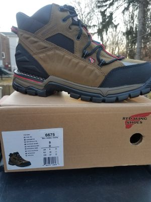 Red wing work boots for Sale in Springfield, PA