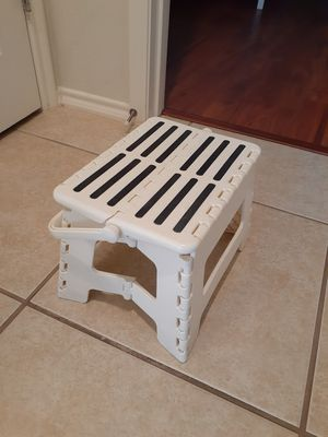 kid fold chair. folding step stool with handle for Sale in Katy, TX