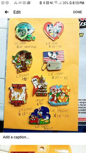 Disney pins for Sale in Adelanto, CA