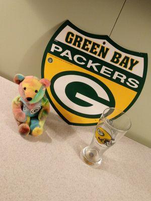 Green bay packer set for Sale in Clovis, CA