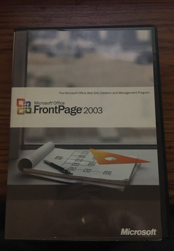 Microsoft office frontpage 2003 full retail oem with key