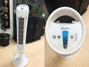 Quietset 8-Speed Whole-Room Tower Fan for Sale in Monterey Park, CA
