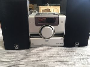 JVC compact component system FS-Y1 with CD/DVD receiver for Sale in San Jose, CA