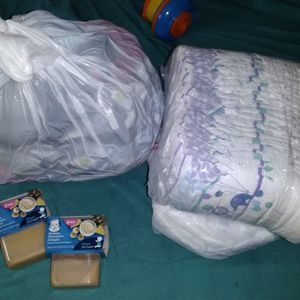 Baby Boy Bundle Food Clothes And Diapers for Sale in Philadelphia, PA