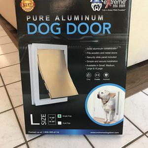 Extreme Pure Aluminum Dog Door (Large) for Sale in Boca Raton, FL