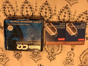 Nissan Titan ceramic rear brake pads and denso spark plugs for Sale in San Diego, CA